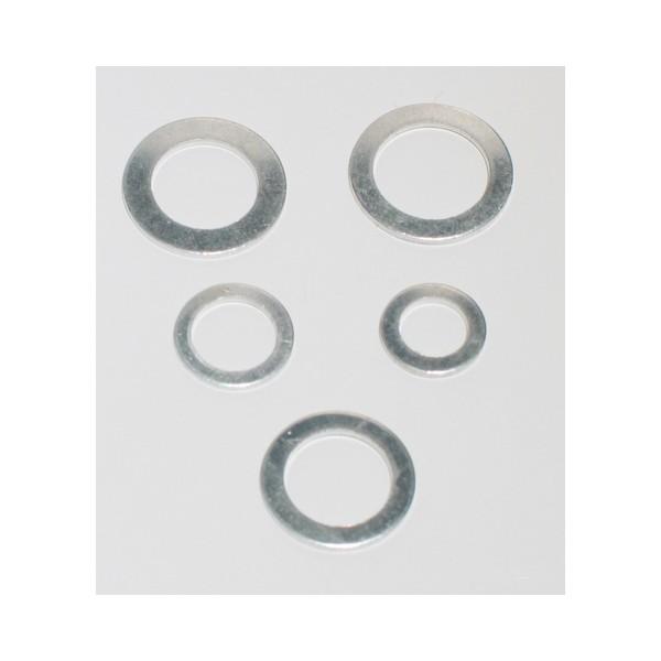 Al.08 X 100 - Arandelas De Aluminio  8 X 12,5 -