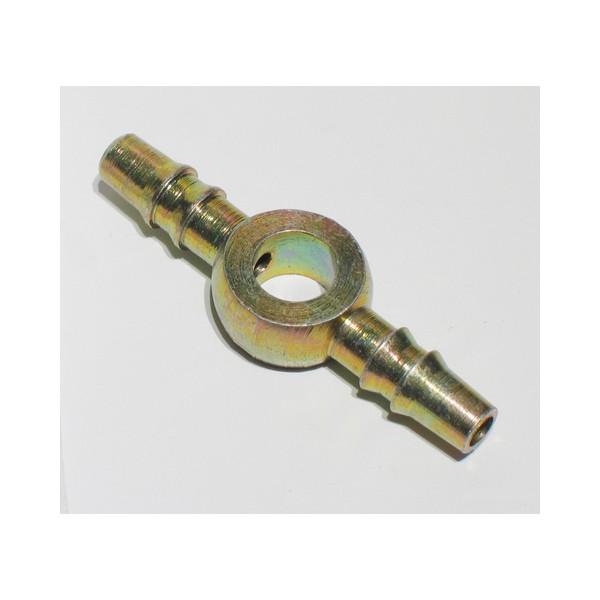 0257/1bl - 6mm Doble Recta Vastago De 4mm -